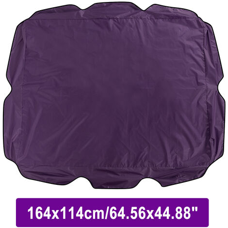 Outdoor Garden Patio Swing Sunshade Cover Canopy Seat Top Cover Purple