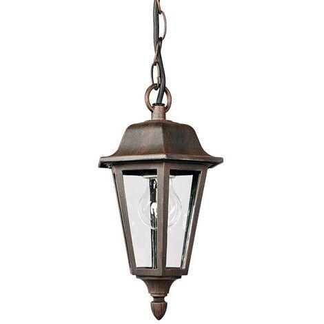 Outdoor hanging light Lamina in lantern form