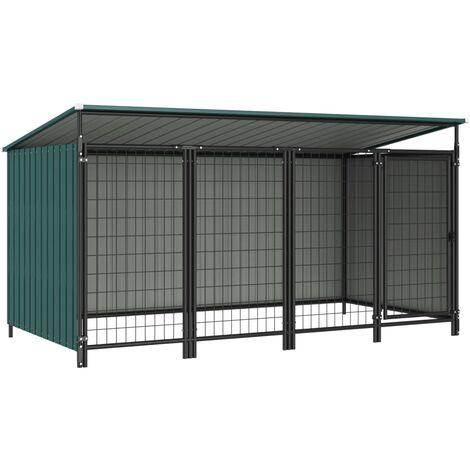 Outdoor-Hundezwinger 253×133×113 cm