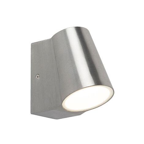 Outdoor lamp aluminum with motion sensor incl. LED - Uma