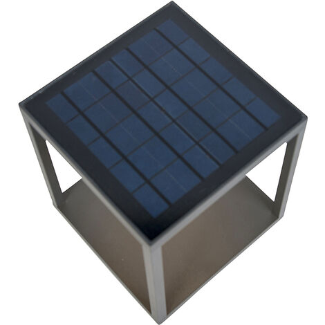 Outdoor lamp incl. Solar, motion detector and twilight switch - Volendam