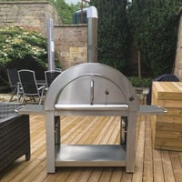 Outdoor Large Wood Fired Pizza Oven Set