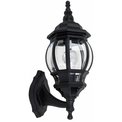 Outdoor LED IP44 Light Rainpoof - Wall Lantern - Black