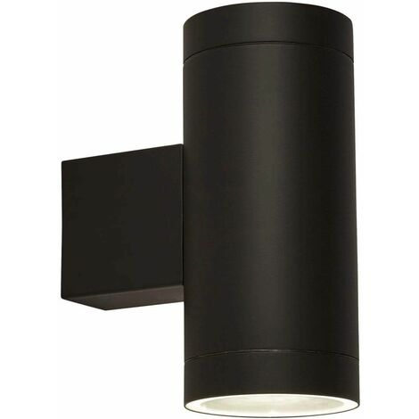 Outdoor light 2l with dusk-to-dawn sensor, black