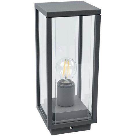 Outdoor lights 'Annalea' (modern) in Black made of Aluminium (1 light source, E27, A++) from Lucande | pillar lights, garden light, path light, bollard light, path lamp, pillar light