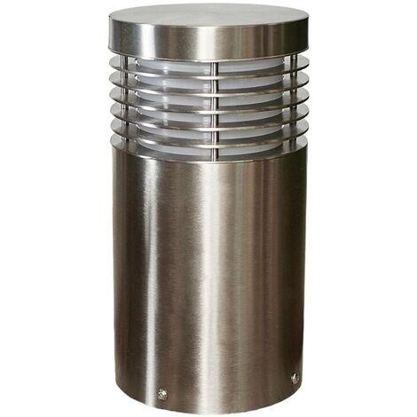 Outdoor lights 'Tomita' dimmable (modern) in Silver (1 light source, E27, A++) from Arcchio | pillar lights, garden light, path light, bollard light, path lamp, pillar light