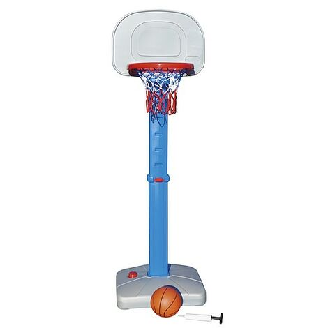 Outdoor Play Childrens/Kids Easy Score Basketball Hoop Set (One Size R) (Blue/Red/Grey)