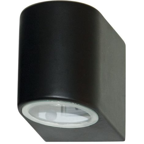 OUTDOOR & PORCH IP44 WALL LIGHT 1 LIGHT BLACK