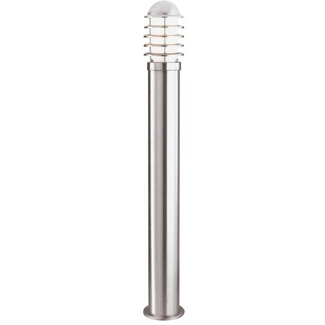OUTDOOR POST LAMP - STAINLESS STEEL 90cm