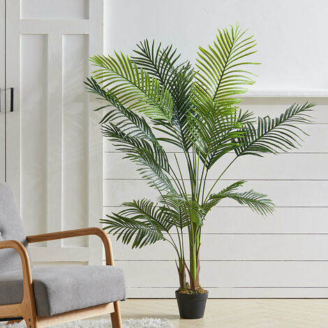 """main image of """"Outdoor Realistic Artificial Palm Tree Plant in Pot, 150CM"""""""