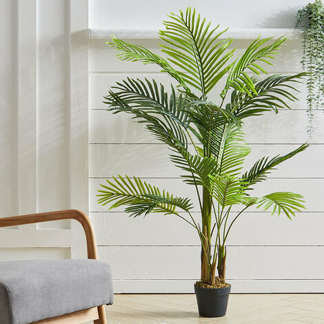 """main image of """"Outdoor Realistic Artificial Palm Tree Plant in Pot, 1.3M"""""""