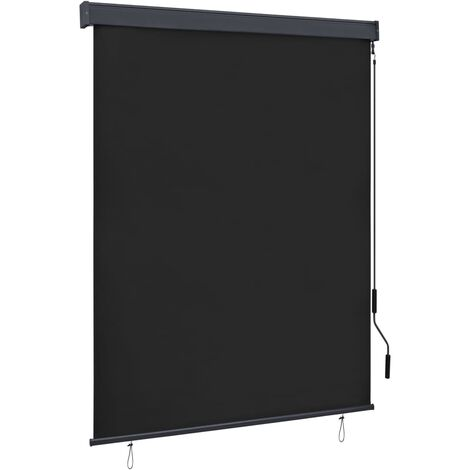 Outdoor Roller Blind 140x250 cm Anthracite - Grey