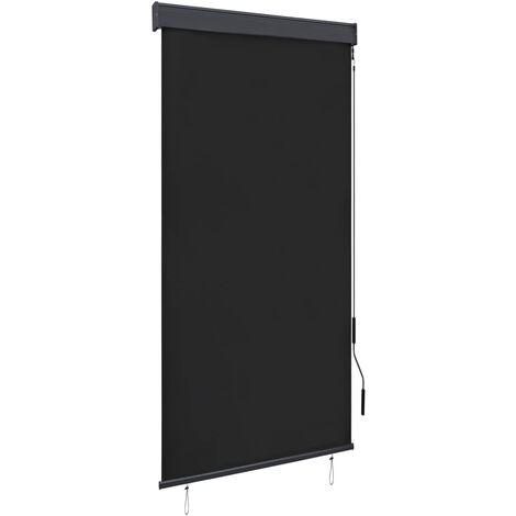 Outdoor Roller Blind 80x250 cm Anthracite