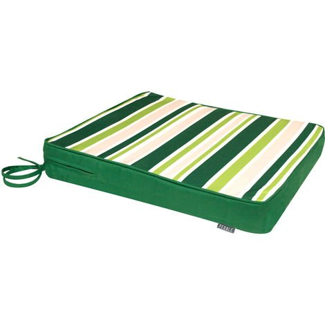 Outdoor Seat Pad Cushion - Fibre Filled with Ties