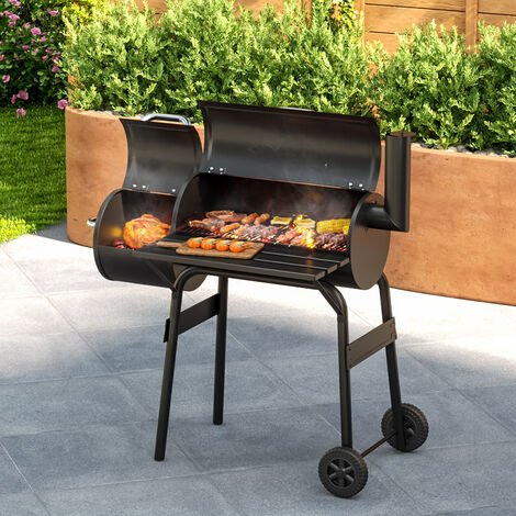Outdoor Smoker Barbecue Charcoal Portable BBQ Grill Garden