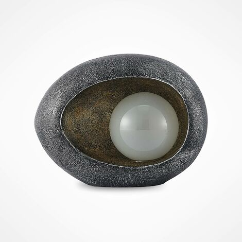 outdoor solar lights 'Tigran' in Silver (1 light source,) from Lindby | Decorative Solar Lights