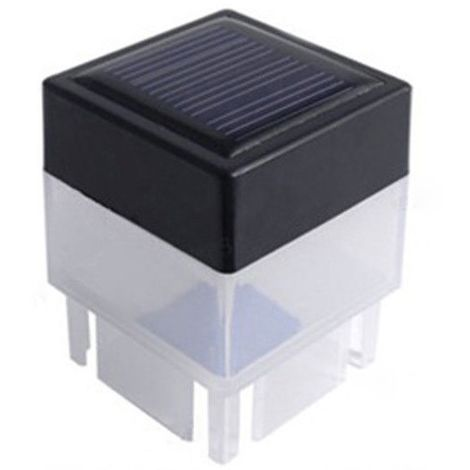 """main image of """"Outdoor Solar Powered Light Fence Yard Post Pool LED Square Light Courtyard Landscape Garden Lamp"""""""