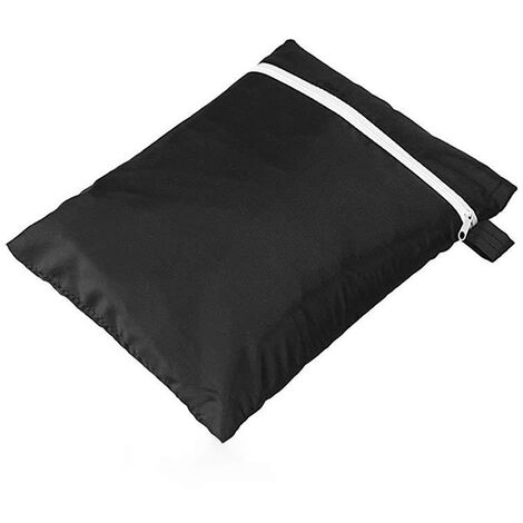 Outdoor sun folding chair dust cover Lawn terrace furniture cover 210 Oxford cloth 110*71*34cm