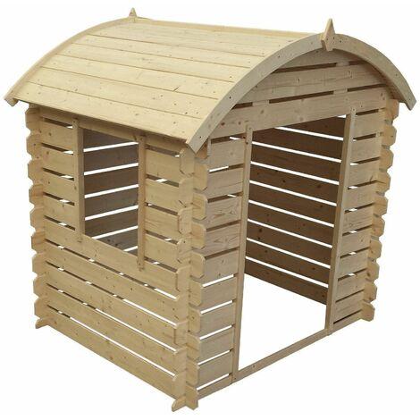 Outdoor Toys Maisonnette En Bois Heidi - 146 cm x 112 cm x 141 cm - 1,63 M²