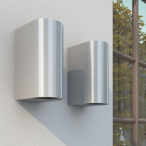 Outdoor Up and Down Wall Lights 2 pcs