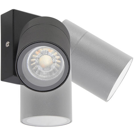 Outdoor wall lamp black adjustable IP44 - Solo