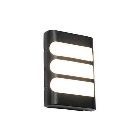 "main image of ""Outdoor wall lamp black incl. LED with light / dark sensor - Gaev"""