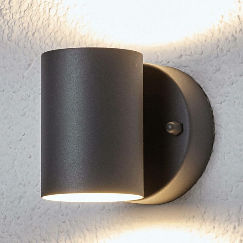 Image of 2-light LED outdoor wall light Lexi - LAMPENWELT