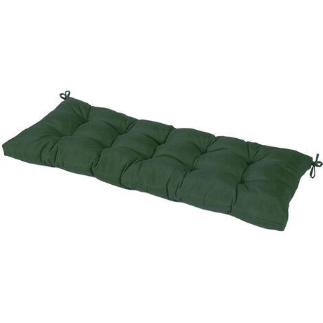 Outdoor Waterproof Solid Bench Cushion Swing Mat 110x45x10CM