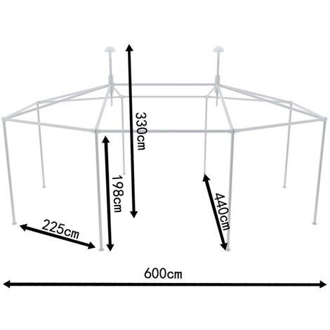 Outdoor Wedding Party Tent Poles Tent Assemble Accessory Set QAH26141
