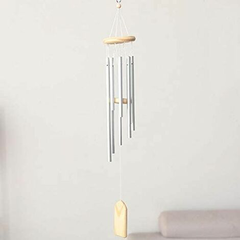 Outdoor Wind Chime, Bell Wind Chime, 8 Tube Aluminum Wind Chime, Windmill Tree Decoration Vent Outdoor or Indoor Garden