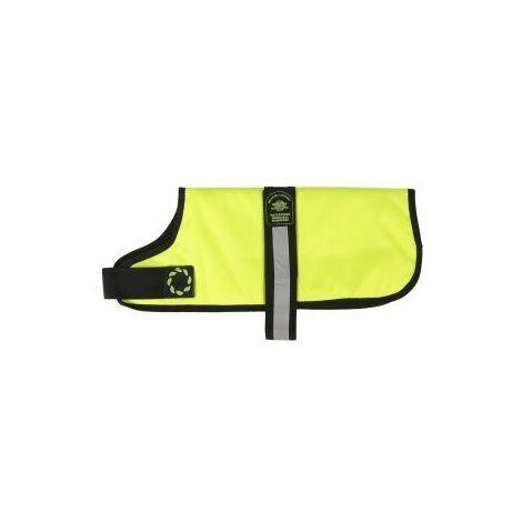 Outhwaite Padded Dog Coat Flo Yellow 35cm x 1 (34049)
