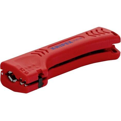 Outil à dégainer universel pour câbles pour bâtiments et pour l'industrie 130 mm Knipex 16 90 130 SB