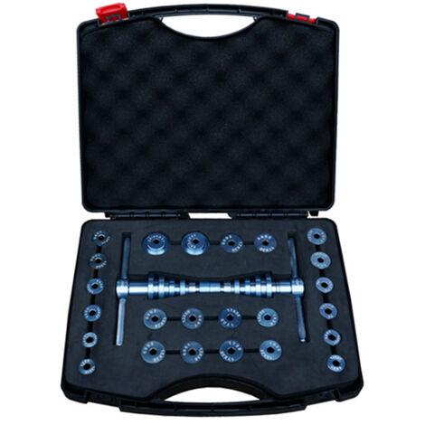 Outil d'assemblage de velo pour le montage du roulement de moyeu de roue de presse de roulement de velo