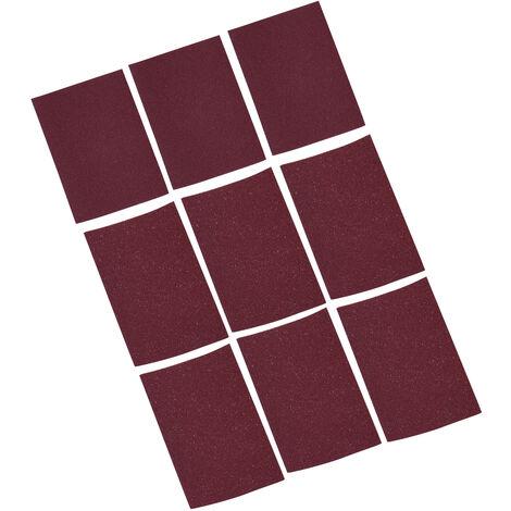 Outil de reparation de guitare 9 ensembles de papier de verre papier de verre 3 * 320 mesh, papier de verre 6 * 240 mesh, adapte au polissage des oreillers de piano en os de b?uf, etc.