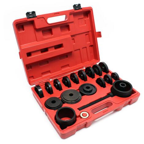 Outil de roulement 24 pièces 55-88 mm Extracteur de roulement pour automobile avec traction avant