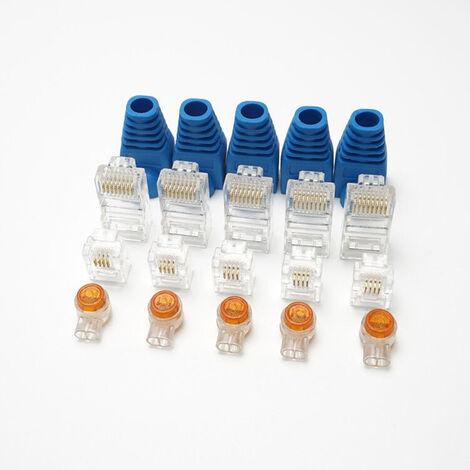 220 Mm Coaxial Pince à sertir Pince à sertir 0.1-16mm² Outil Câble pour RG58//RG59//RG62