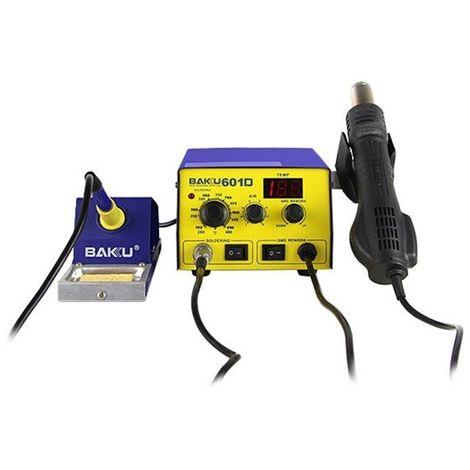 Outil de soudure Affichage à LED 2 en 1 Station de soudage à souder de fer à air chaud