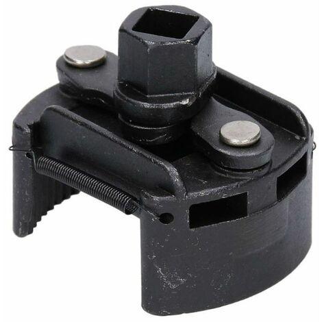 Outil mecanique clé à filtre à huile universelle voiture réglable taille 60-80mm