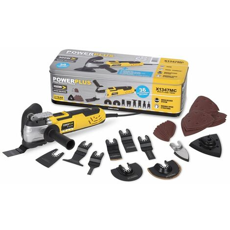 Outil Multi-Usage 300 Watts + 36 accessoires