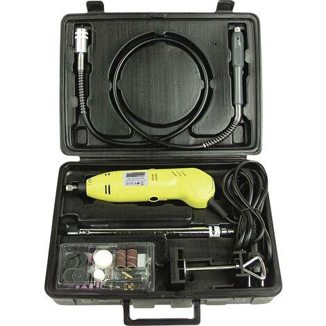 Outil multi-usage + accessoires, + mallette Brüder Mannesmann 92570 230 V 130 W 80 parties