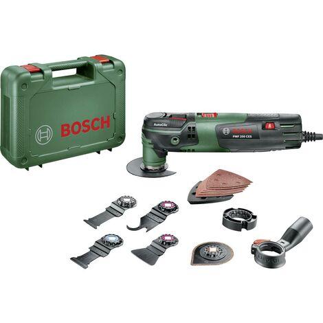 Outil multi-usage Bosch Home and Garden PMF 250 CES Set 0603102101 + accessoires, + mallette 16 pièces 250 W 1 set