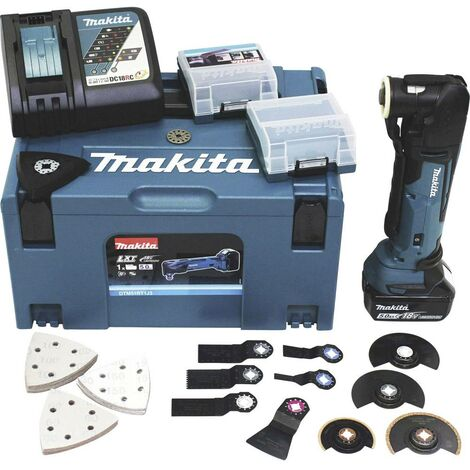 Outil multi-usage sans fil Makita DTM51RT1J3 DTM51RT1J3 18 V 5 Ah 1 pc(s)