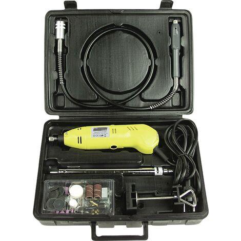 Outil multifonction + accessoires, + mallette Brüder Mannesmann 92571 230 V 130 W 80 parties C97956