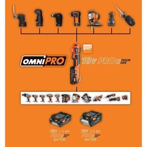 Outil multifonction - AEG OMNI 300 KIT 1 + 2 LAMES Offertes !