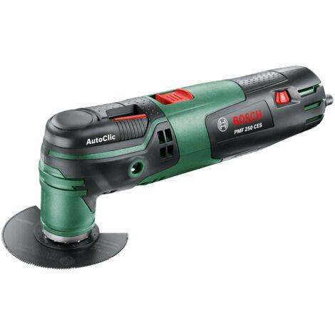 Outil multifonctions Bosch - PMF 250 CES (250W, livré avec accessoires, fonction Autoclic, interface Starlock)