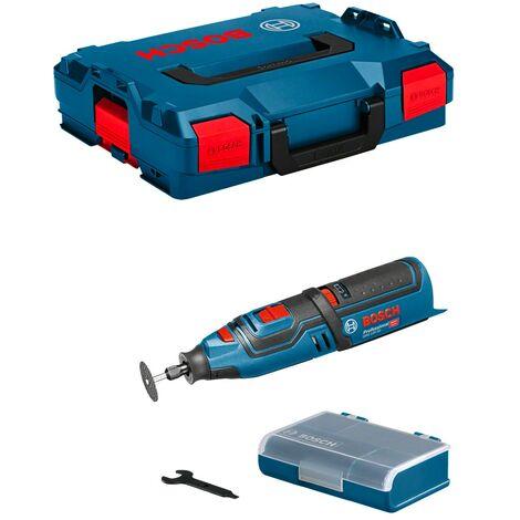Outil multifonctions et 2 batteries 2Ah en coffret L-Boxx - BOSCH GRO GRO 12V-35