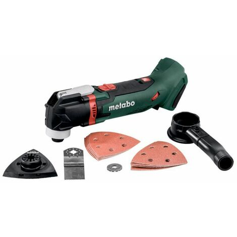 Outil multifonctions - MT 18 LTX Pick+Mix (sans batterie ni chargeur), coffret Metaloc avec set d'accessoires - 613021840