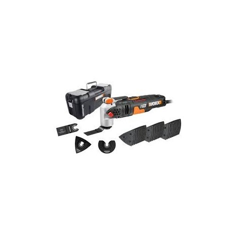 Outil multifonctions sonicrafter hyperlock F50 450W Worx