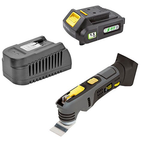 Outil oscillant multi-fonction sans fil KIT XF-TOOLS - 40 V 1,5 Ah avec chargeur