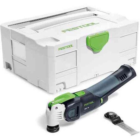 Outil oscillant OSC 18 Li E-Basic VECTURO + lame + Box FESTOOL - Sans batterie ni chargeur - 576591